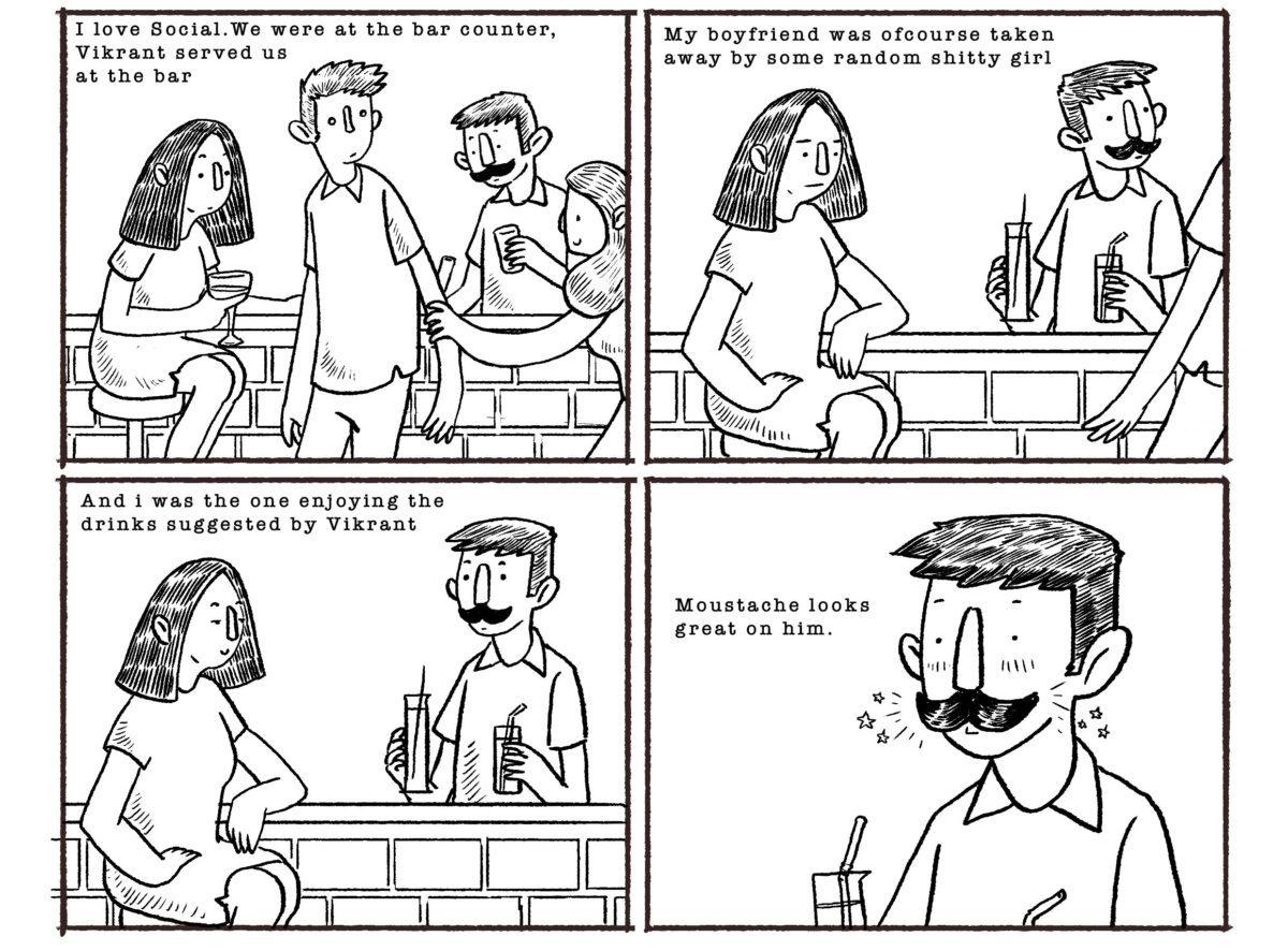 #StraightOuttaSocial (#SOS): A Sit-Down Comic Series