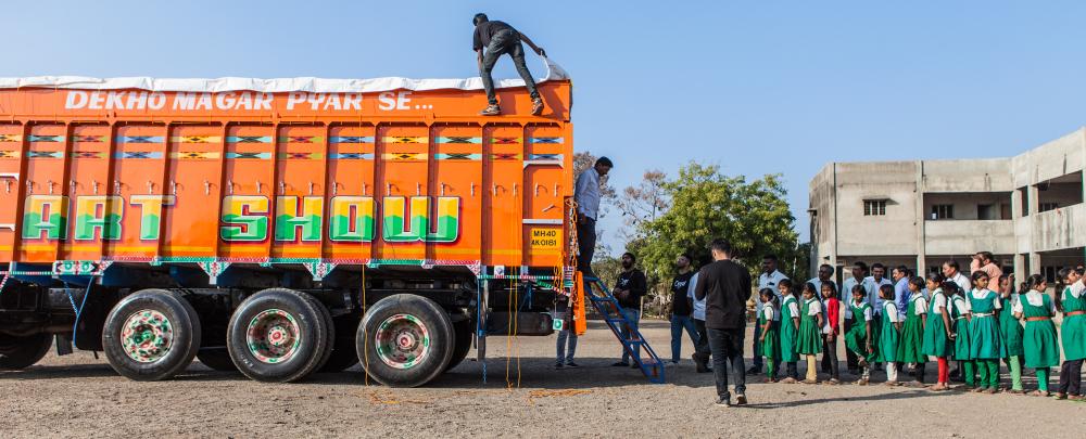 Art Ok Please - The Indian Gallery On Wheels!